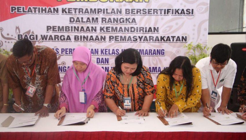 Mendidik Napi Perempuan dengan Pelatihan Kerja Bersertifikasi